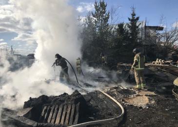 Участие добровольцев Ломоносовского района в ликвидации пожаров_2